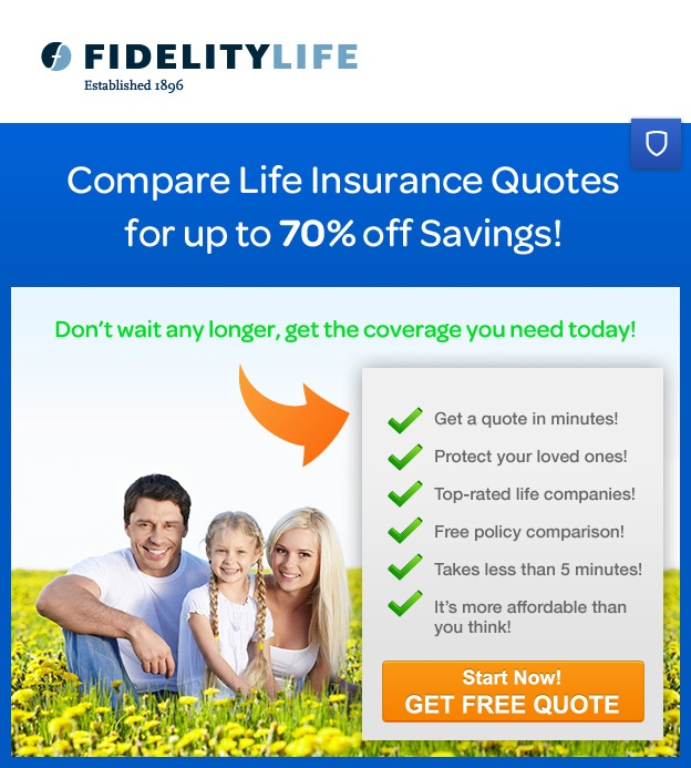 Spoken WordFidelity LifeTotal Coverage Mall Shope Simple Fidelity Life Insurance Quotes