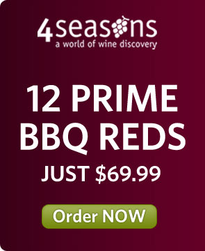 4 Season Special offer BBQ wines