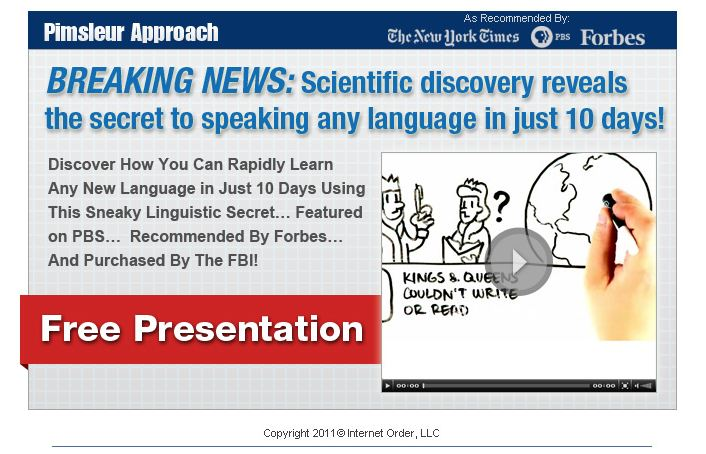 Breaking News: Scientific Discovery reveals the secret to speaking any language in just 10 days!